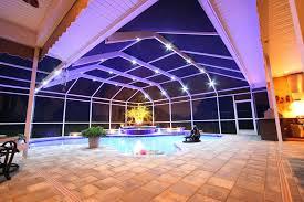 led enclosure lighting pool cage enclosures accessories