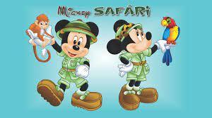 Mickey Safari Clip Art - Novocom.top