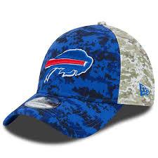 Era Flex Hat Men's 39thirty 2015 New On-field Buffalo Salute Service To Bills Royal