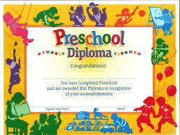 free preschool certificates 11 preschool certificate templates pdf free premium