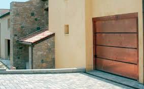 metal garage doorsRusted Custom Garage Door Installed in Peoria AZ