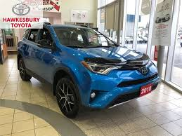 2018 toyota rav4 se with navigation roof and leather seats