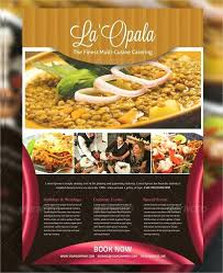 Catering Flyer Template Athoise Com