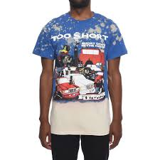 Blue Multi Mens Too Hort Tee