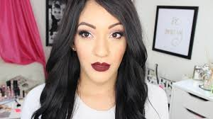 l a cosmetics on twitter the stunning jasminmakeup1 wearing our matte pigment lipgloss in 39 backse 39