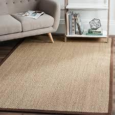 safavieh casual natural fiber natural maize brown sisal area rug 9 x 12