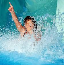 pool water splash. Water Slide Fun By PMcRae, Via Flickr Pool Splash