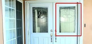 door glass inserts half lite glass inserts on entry door door glass inserts home depot