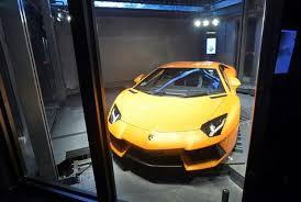 Lamborghini Vending Machine Custom Singapore Car 'vending Machine' Dispenses With Tradition