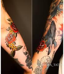 татуировкарозы смотрите тренды и фото узнайте что это за хэштег