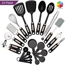 Amazon.com: Cooking Utensils Set 22-piece - Home Kitchen Tools ...