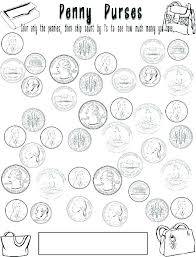 coloring play money coloring pages coin page coins great sheets