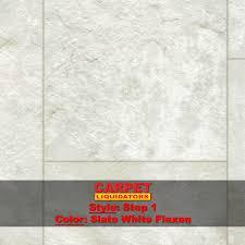 luxury sheet vinyl step 1 slate white flaxen