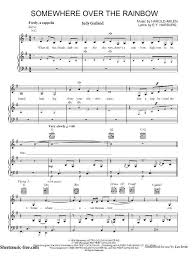 Somewhere Over The Rainbow Sheet Music Judy Garland Download