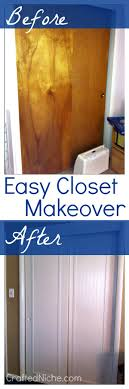 sliding closet door makeover crafted niche a lifestye blog that shares diy crafts