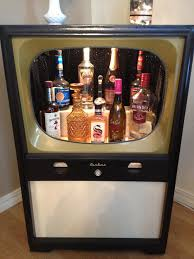 Secret Liquor Cabinet 3 Mini Bar Ideas From An Old Tv Drinks Cabinet Mini Bars And Style