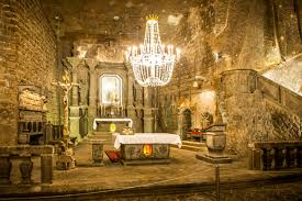 Saltmine Workplace Design This Subterranean City Carved Out Of Salt In Poland Will