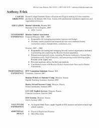 4 Years Experience Resume Format Awesome Esl Curriculum Vitae