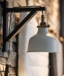 ikea shelf lighting. ikea ranarp wall light hack with ekby valter brackets freeing up bedside table shelf lighting