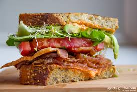 Image result for blt sandwich sprouts