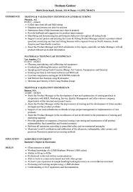 ndt resume samples technician testing resume samples velvet jobs