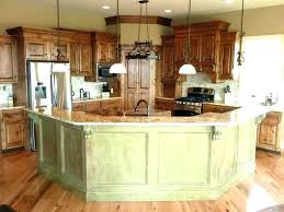 kitchen island open shelves islands concept with layout bar and seating