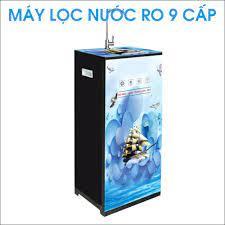 Máy lọc nước RO 9 cấp cao cấp PAF AquaYaki bình áp 10 lít