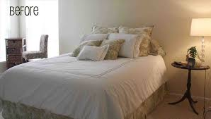 Headboard beds without headboards homesfeed ideas for bed headboard a  alternative ideas above bed decor no