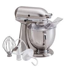 kitchenaid 6 quart mixer. kitchenaid ksm152psnk custom metallic series 5 quart stand mixer - brushed nickel kitchenaid 6