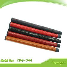 china stitched genuine leather golf putter grips china golf grip leather grip