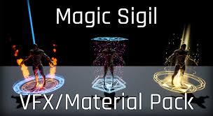 <b>Magic Sigil</b> VFX/Material Pack in Visual Effects - UE Marketplace