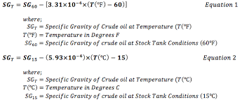 Jet A Specific Gravity Chart Api Gravity Temperature Correction Online Calculator