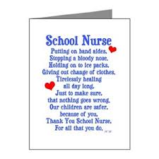 Thank You Notes For Nurses Nurse Greeting Cards Cafepress