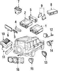 Genuine land rover mount bracket ran xqu100830