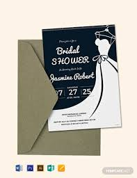 free printable bridal shower invitation template