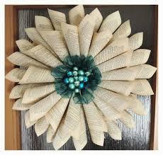 diy xmas decorations paper paprová rŠže vÄ nec diy paper wreath decorations