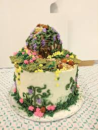 100 edible fairy garden cake