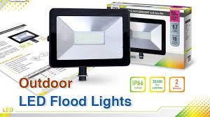 top 10 best outdoor led flood lights in 2018