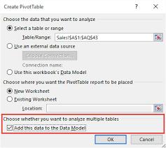 distinct count in a pivot table