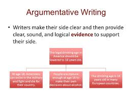 ch reading and writing argument essays ppt  6 argumentative writing