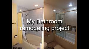 step by step diy bathroom remodeling project