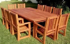 Custom Redwood Dining Table