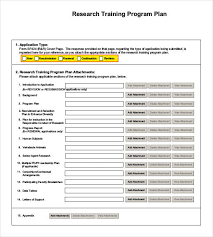 Sample Training Agenda Inspiration Training Plan Template 44 Free PDF Documents Download Free
