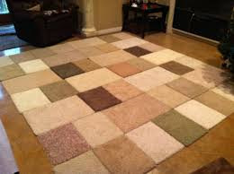 carpet rug. my mom made me a carpet sample rug in the coolest thing she ever me! l