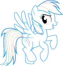 Small Picture rainbow dash My Little Pony Coloring Pages FUN LEARN Free