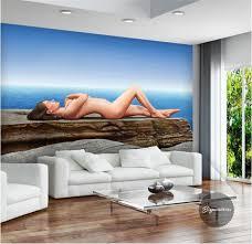 3d Behang Stereo Reliëf Moderne Strepen Non Woven Massaal Behang