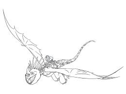 In Volo Sul Drago Dragon Trainer 2 Da Colorare Per Bambini E Bambine