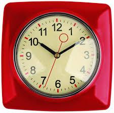 Retro Kitchen Wall Clocks Kitchen Clocks Home Design Ideas