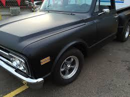 classic chevy truck classic chevy flat black