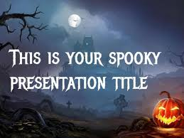 Halloween Template Free Google Slides Or Powerpoint Template For Halloween Dark And Scary